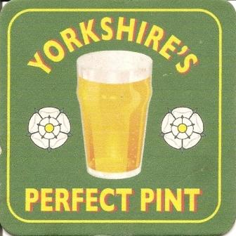 Yorkshire's Perfect Pint Beermat