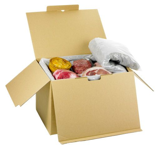 Yorkshire Dales Food Hamper in Wool insulated Eco Packaging