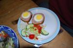 Homemade Free Range Scotch Eggs