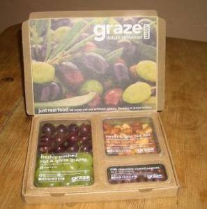Graze - nature delivered, fruit and nutty nibbles