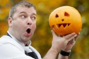 Lister Arms Malham Pumpkin Carving Competition, Craven Herald