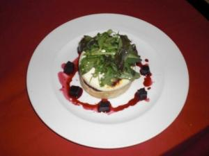 Michael Ward, Highwayman - Crumpet, Curd, Watercress & Beetroot Salad