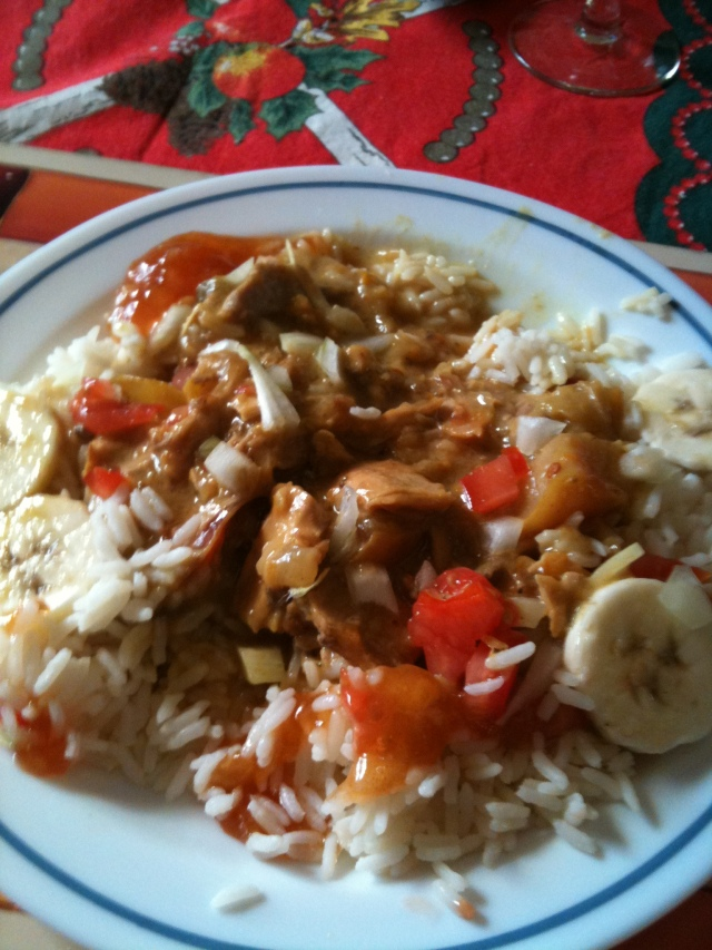 Delia Smith English Colonial Turkey Curry