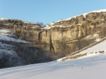Malham Cove in the Snow