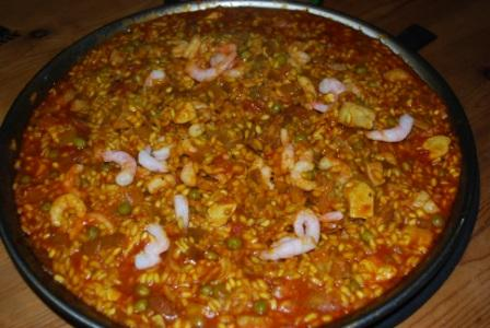 Yorkshire Chorizo Paella