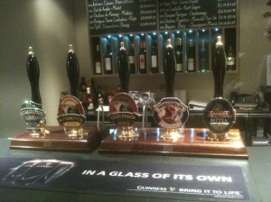 The Plough at Lupton Beer Selection