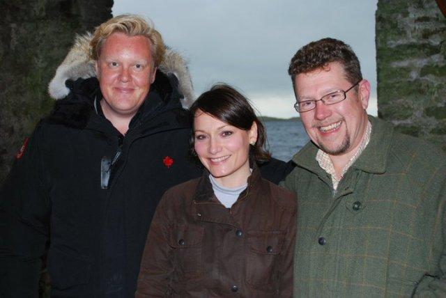 Olly, Dolly & Chris Malham Tarn Secret Supper