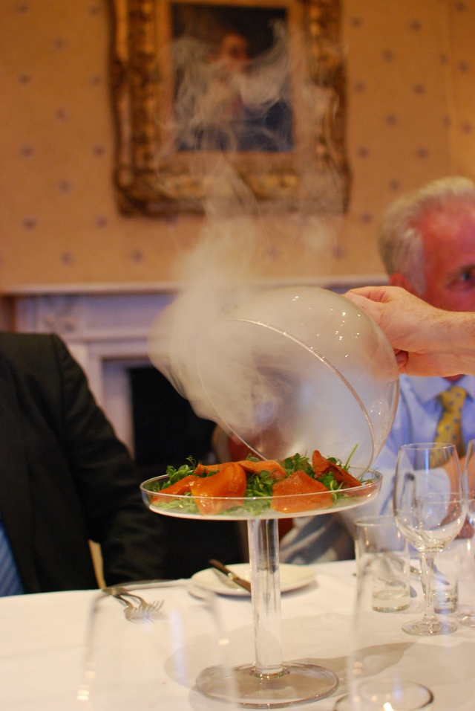 Hot Oak Smoked Kilnsey Trout Great British Menu