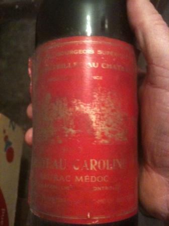chateau caroline 1970