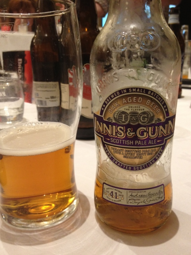 innis and gunn scottish pale ale