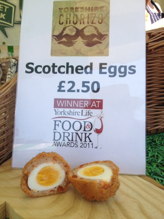 LeedsLovesFood Yorkshire Chorizo Scotch Egg