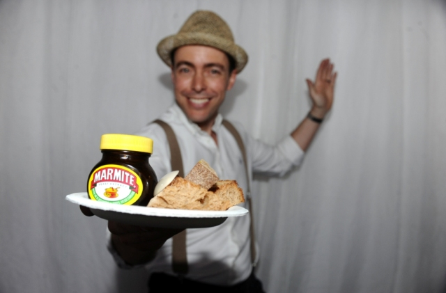 Pacal Aussignac Marmite Royale and Soldiers Taste of London 2012