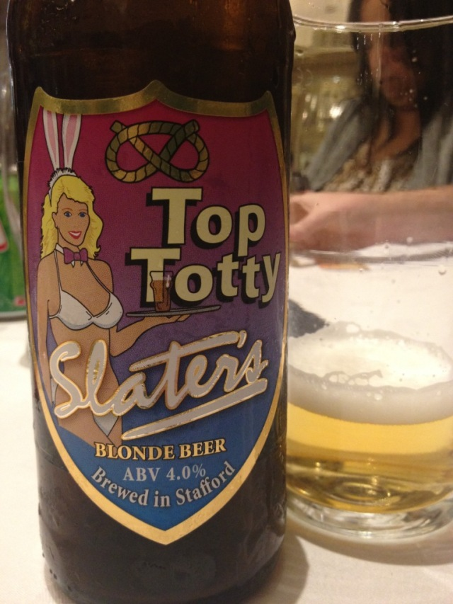 Slaters Top Totty Blonde