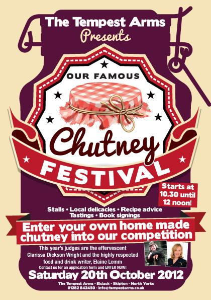 Tempest Arms Chutney Festival 2012