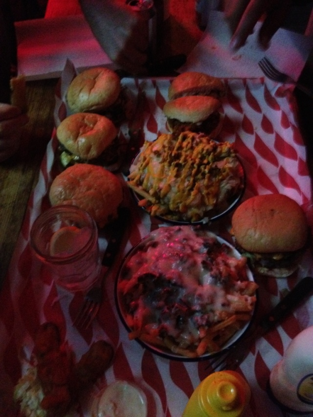 Meat Liquor whole load of burgers