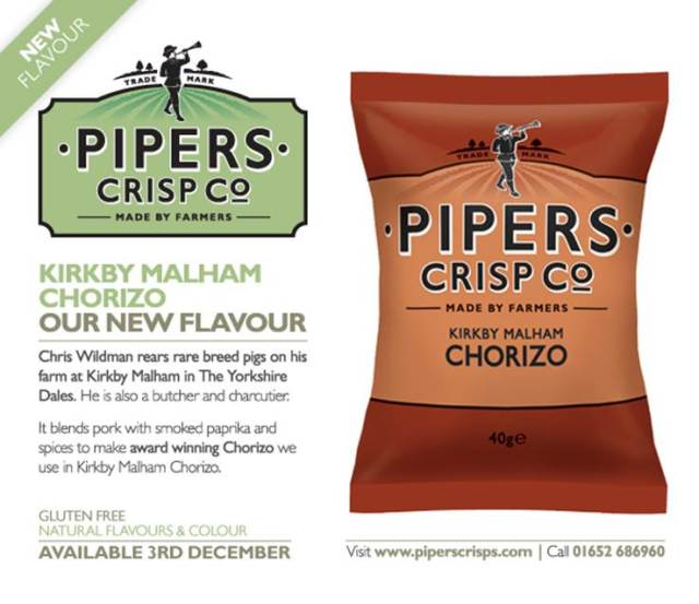 Kirkby Malham Chorizo Crisps