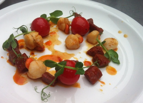 Bonnie Gull Scallops and Yorkshire Chorizo 2