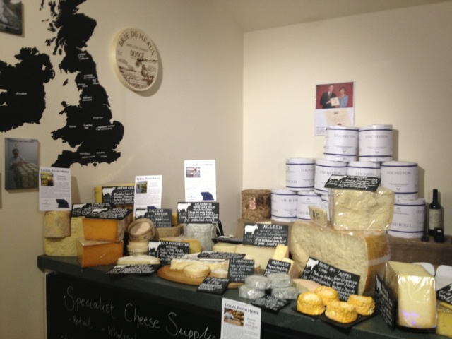 Courtyard Dairy Settle Cheese Shop