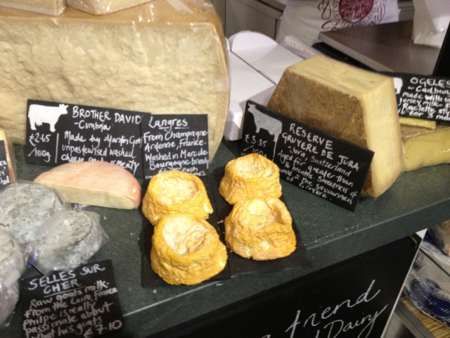 Langres and Brother David Martin Gott Courtyard Dairy