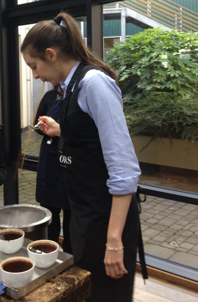 taylors coffee spit tasting