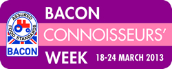 bacon connoisseurs week logo 2013