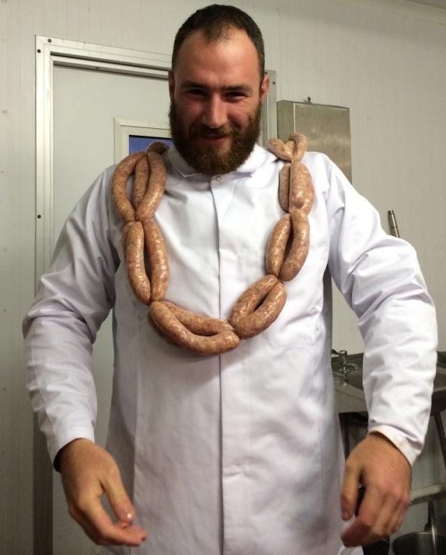 Dr Death sausage maker extraordinaire