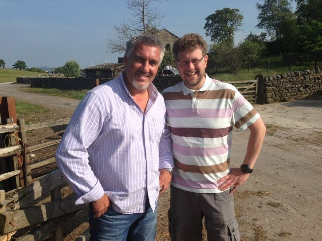 Paul Hollywood and Chris Wildman