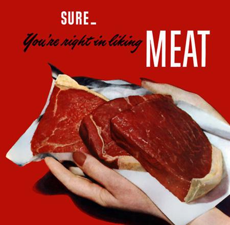 Meat Slogan