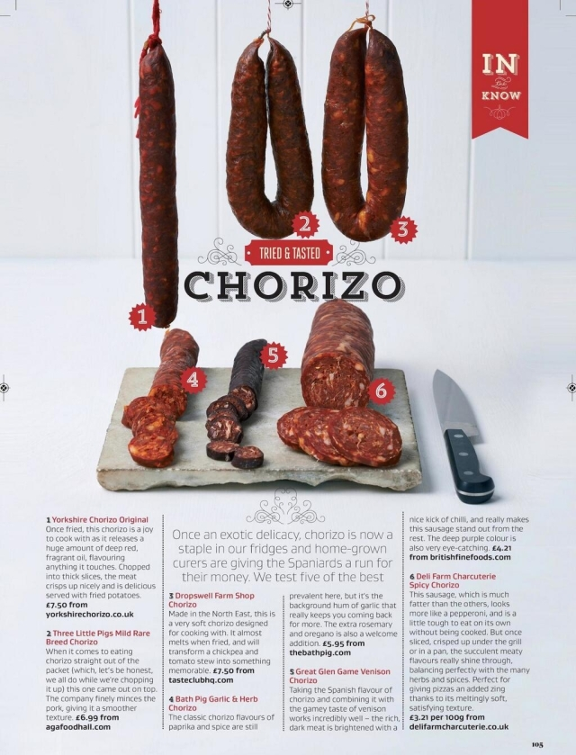 Great British Chorizo Review