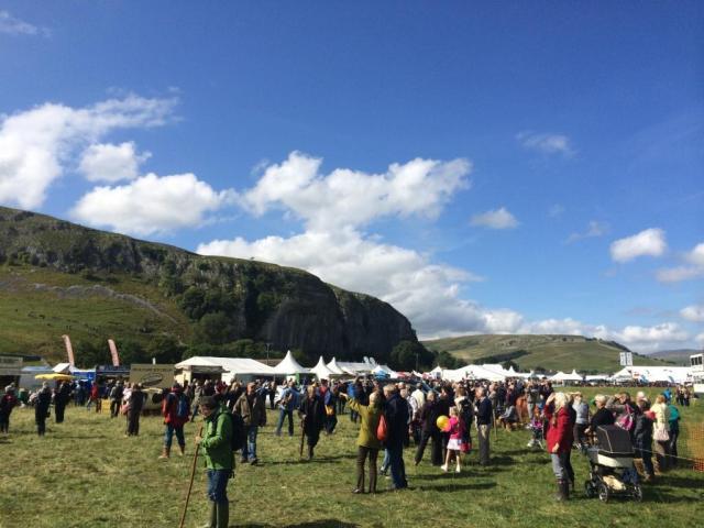 Kilnsey Show Crag