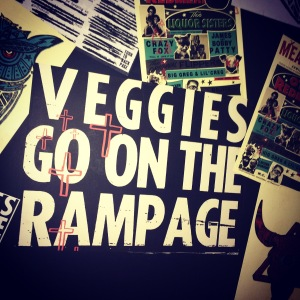 Veggies go on the rampage