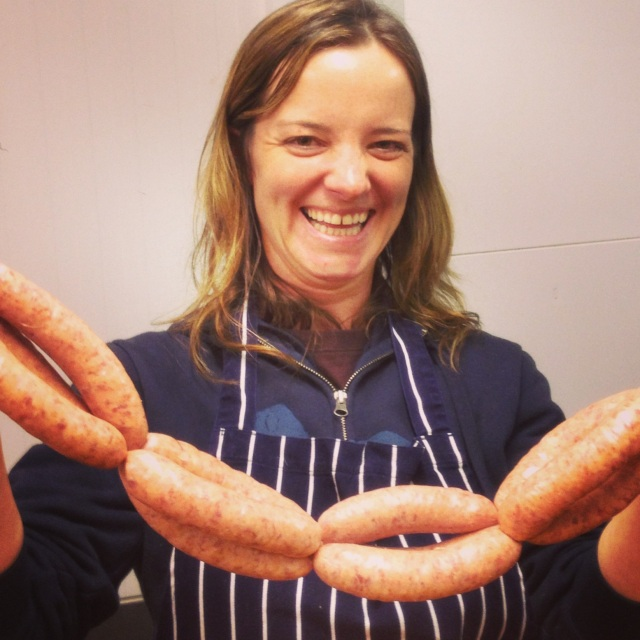Sausage Making Smile 1