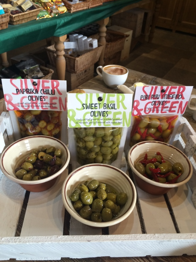 Silver & Green Olives Town End Farm Shop