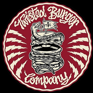 twisted burger co logo
