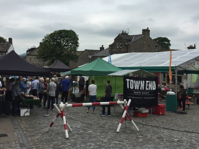 Grassington Food Festival in the Square