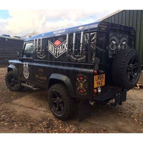 Wildman Craft Beer Land Rover