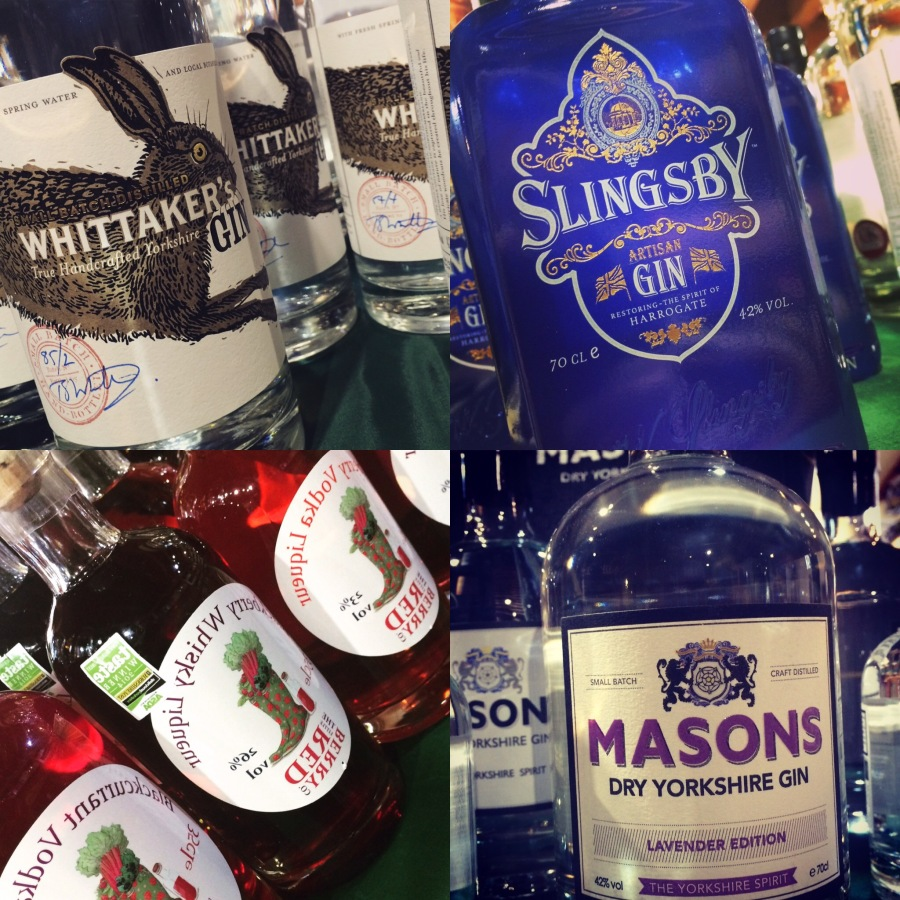 Yorkshire Gin shots
