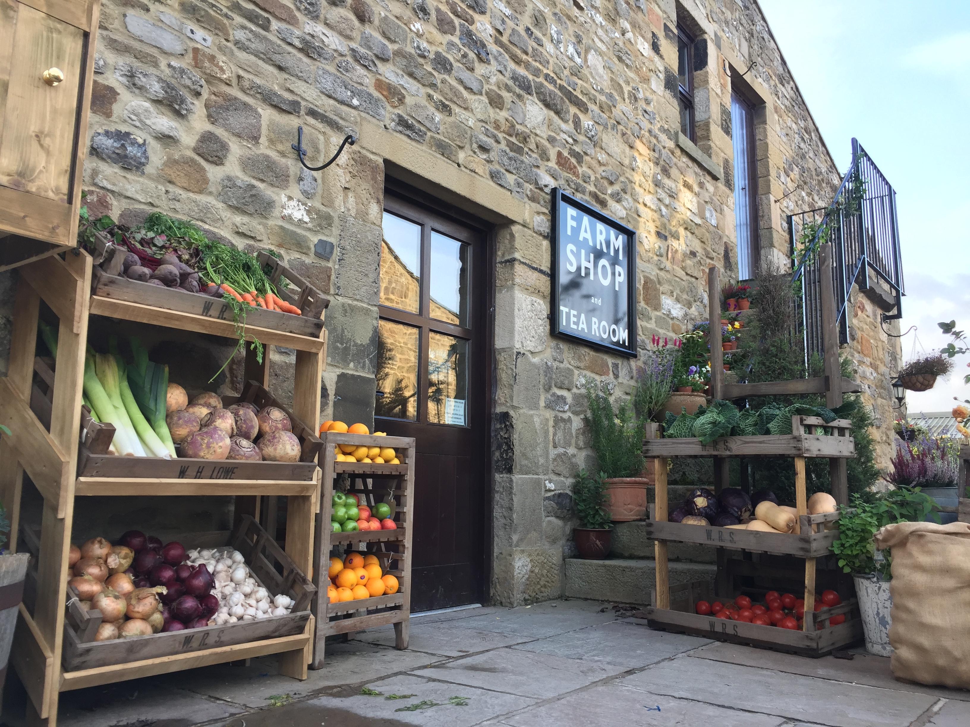 town end farm shop finest in the deli BBC