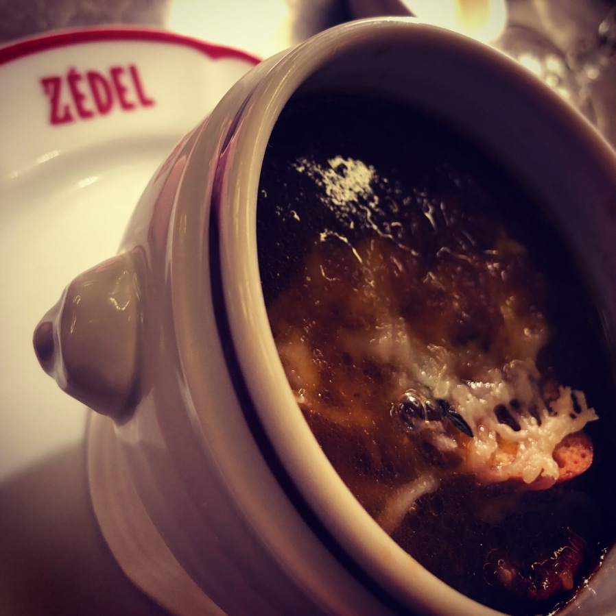 zedel french onion soup
