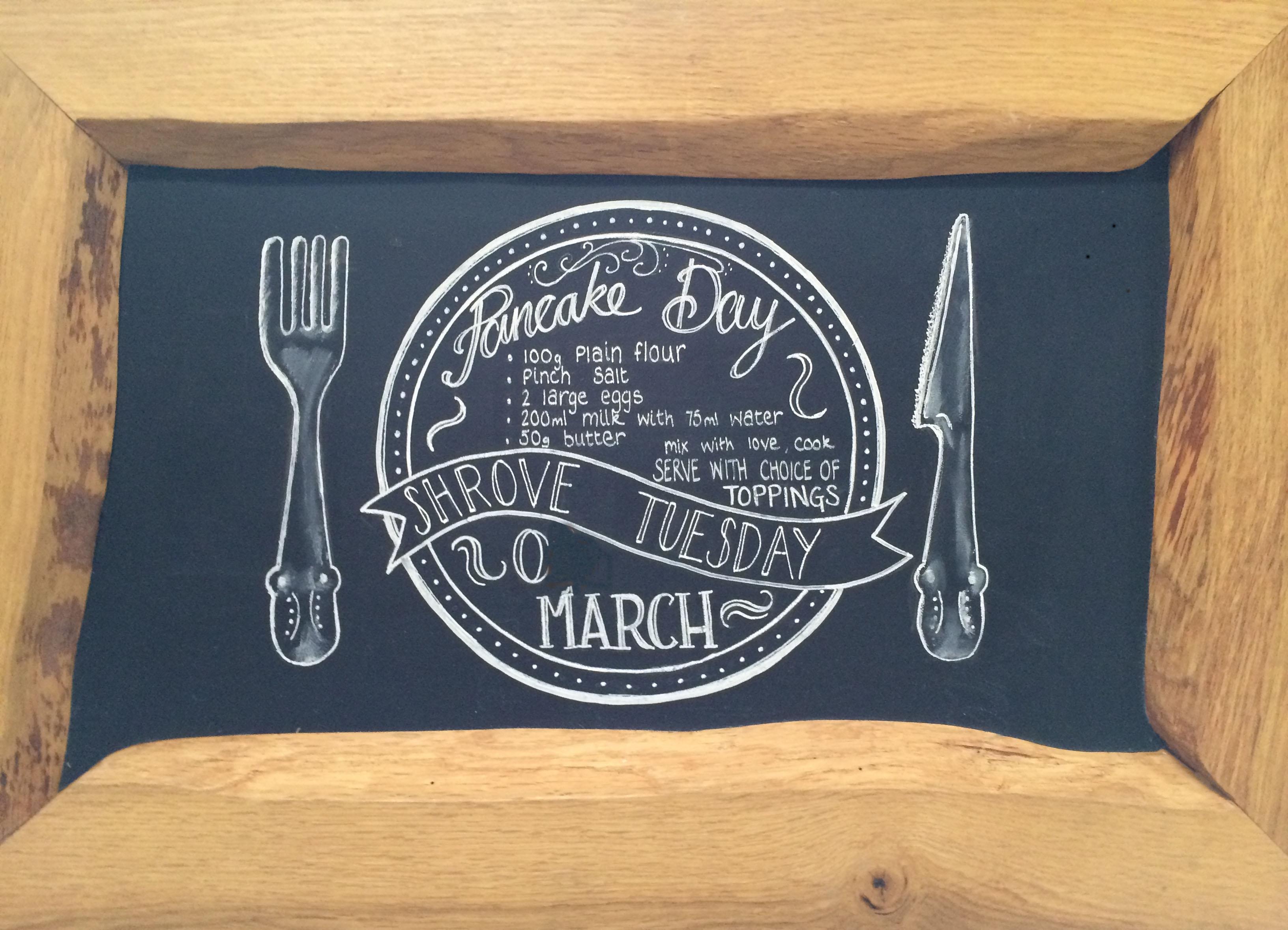 Shrove Tuesday Pancake Day 2019
