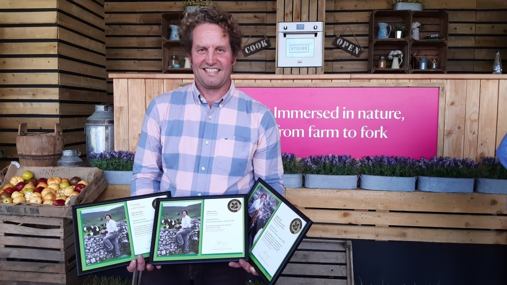 NATIONAL TRUST FINE FARM PRODUCE AWARDS 2019 NEIL HESELTINE MALHAM